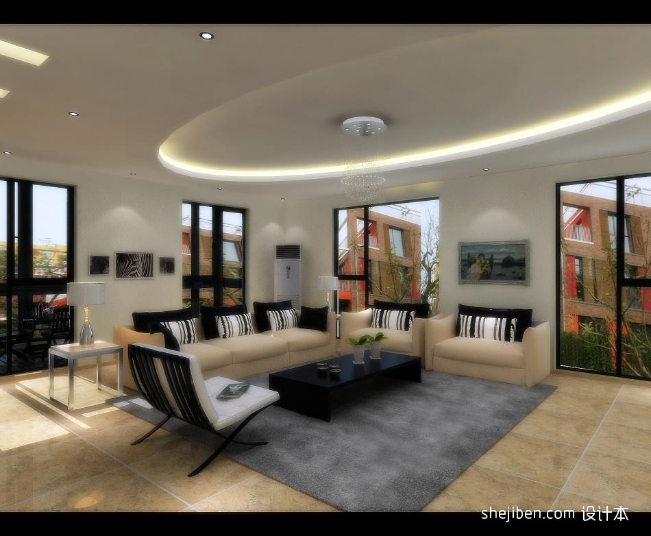 精美144平米混搭别墅客厅欣赏图客厅潮流混搭客厅设计图片赏析