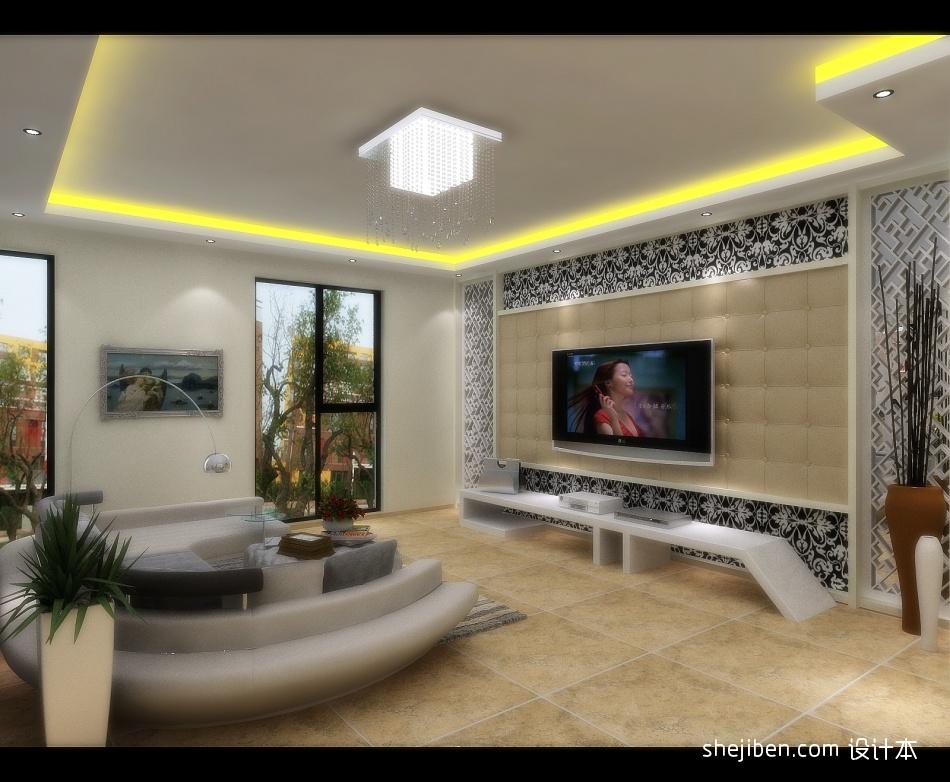 悠雅557平混搭别墅客厅设计案例客厅潮流混搭客厅设计图片赏析