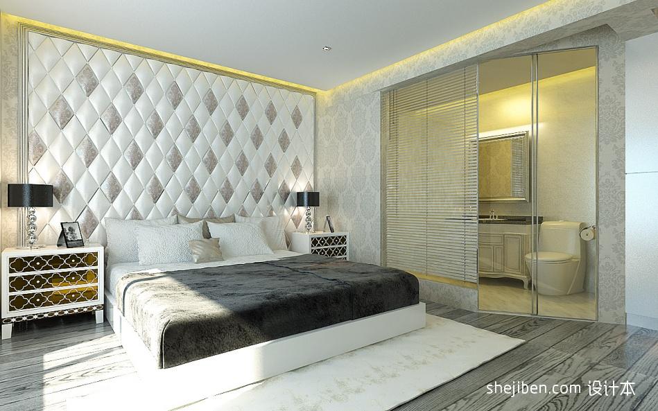 精美96平方三居卧室混搭装修设计效果图片卧室潮流混搭卧室设计图片赏析