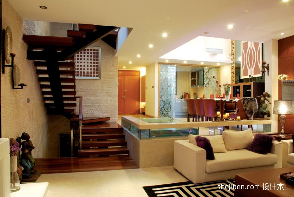热门混搭客厅装修实景图片欣赏客厅潮流混搭客厅设计图片赏析