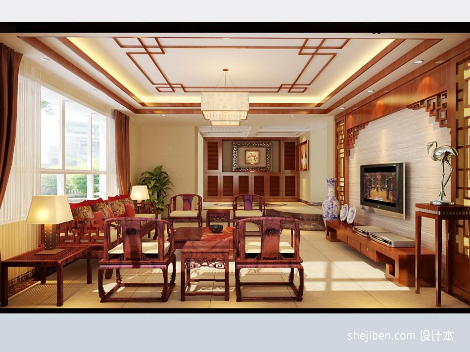 2018精选126平方混搭别墅客厅装修设计效果图客厅潮流混搭客厅设计图片赏析