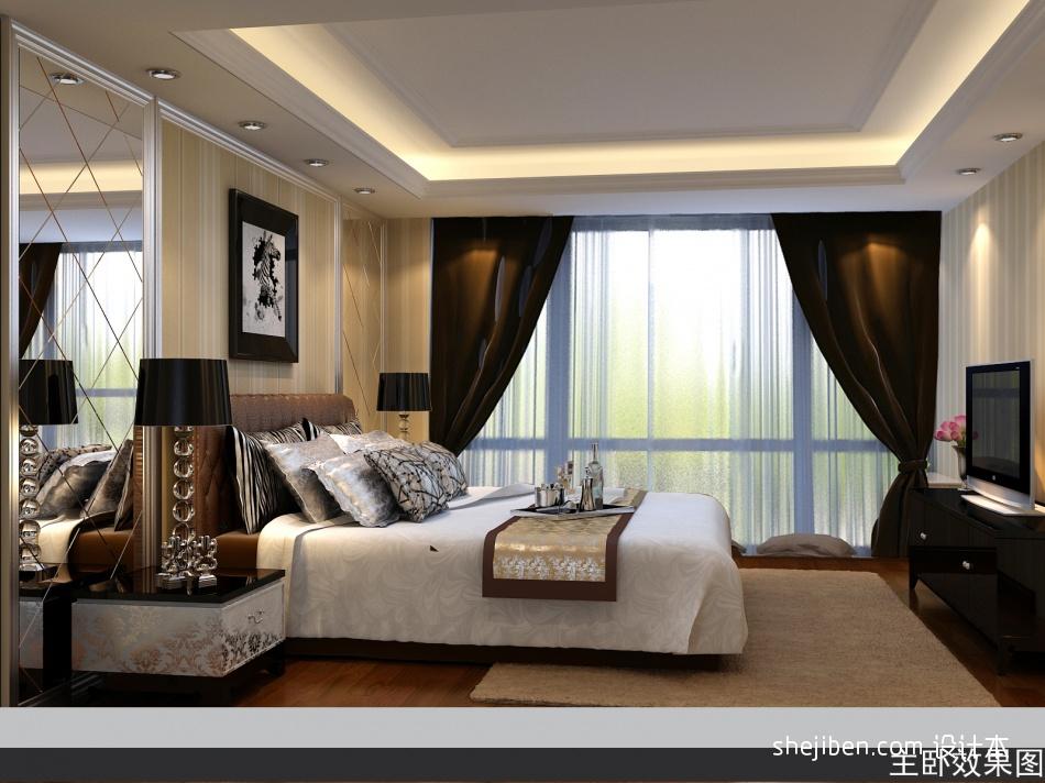 精选140平米混搭复式卧室实景图片欣赏卧室潮流混搭卧室设计图片赏析