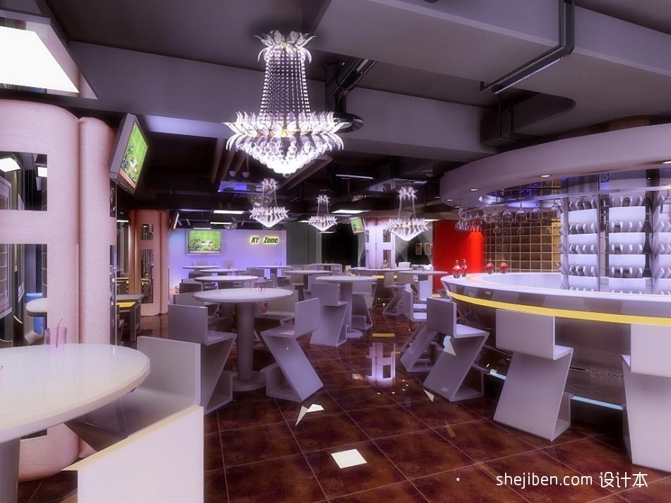 服务前台娱乐空间设计图片赏析