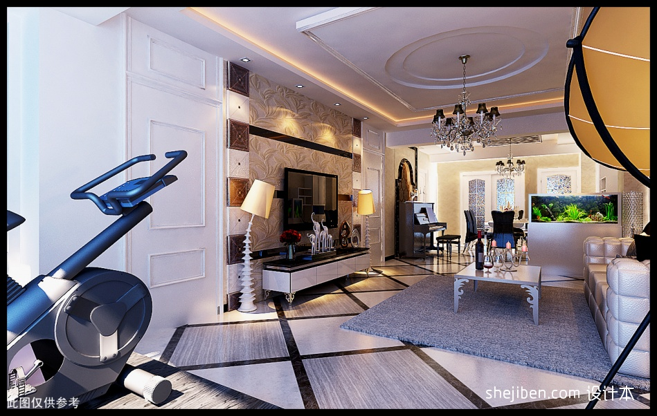 热门99.0平米3室客厅混搭装修效果图片欣赏客厅潮流混搭客厅设计图片赏析