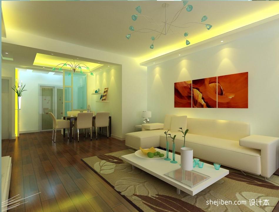 现代客厅客厅潮流混搭客厅设计图片赏析