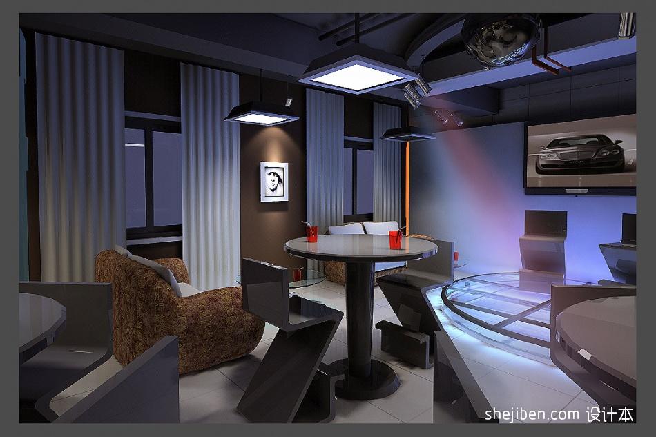 透明演出台娱乐空间设计图片赏析