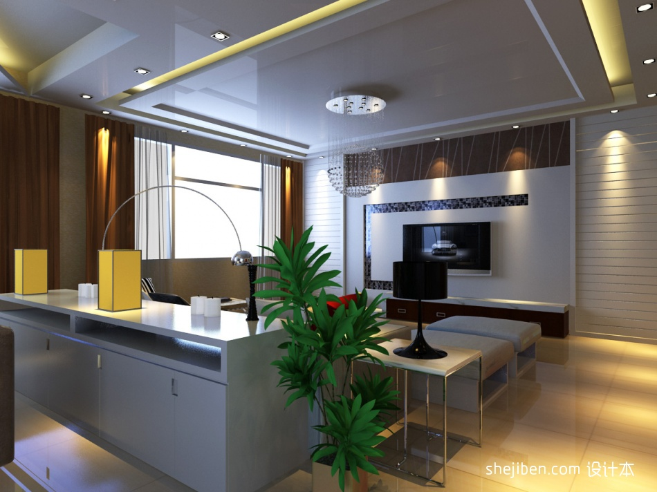 温馨104平混搭四居客厅实景图客厅潮流混搭客厅设计图片赏析