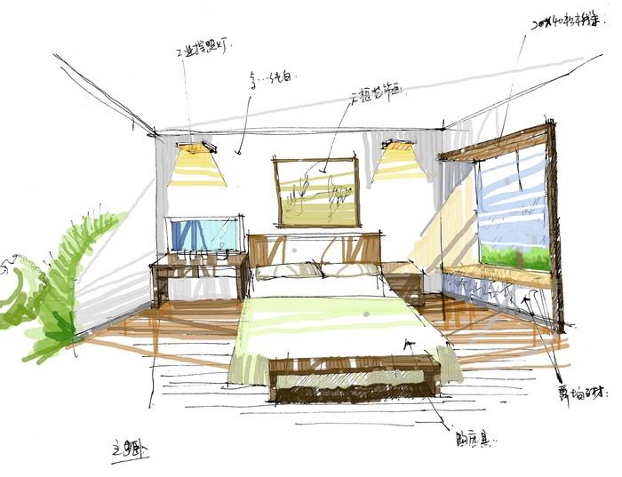 优美112平混搭三居卧室效果图欣赏卧室潮流混搭卧室设计图片赏析