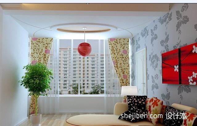88平方二居客厅混搭实景图片大全客厅潮流混搭客厅设计图片赏析