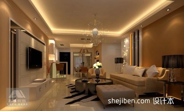 精选大小101平混搭三居客厅设计效果图客厅潮流混搭客厅设计图片赏析