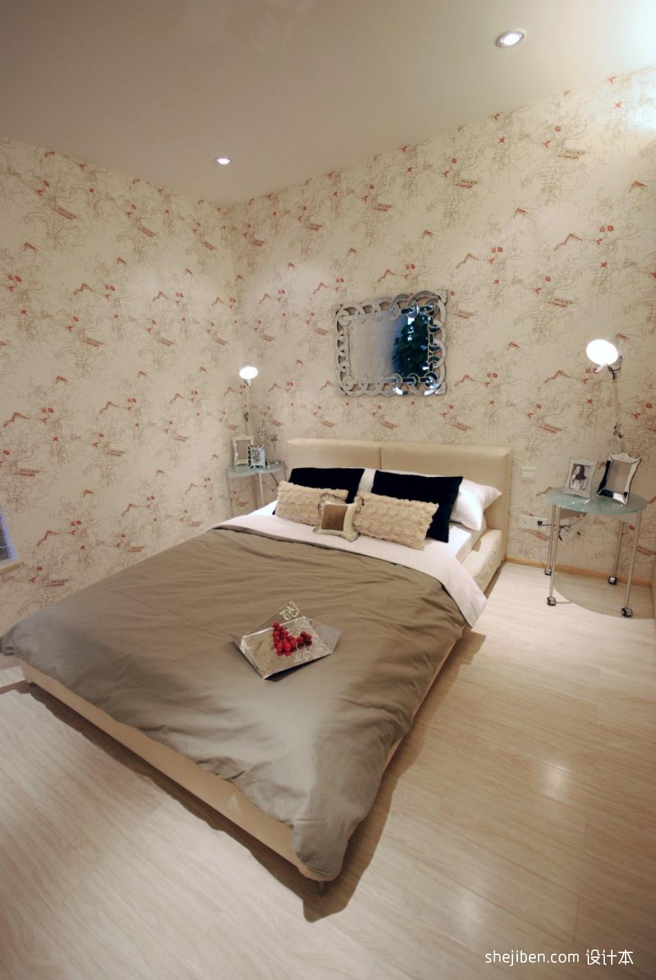 混搭卧室效果图片卧室潮流混搭卧室设计图片赏析