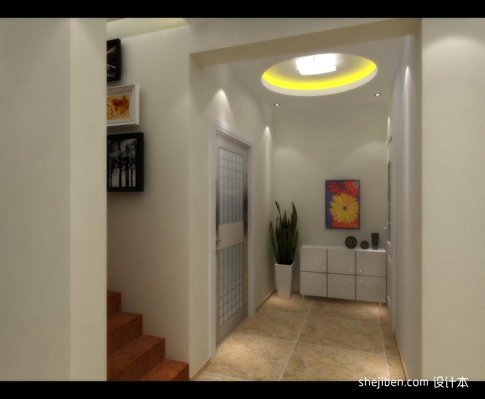 精选面积133平别墅玄关混搭装修设计效果图片欣赏玄关潮流混搭玄关设计图片赏析