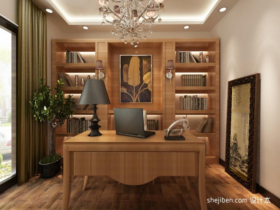 热门面积139平复式书房混搭效果图片大全功能区潮流混搭功能区设计图片赏析