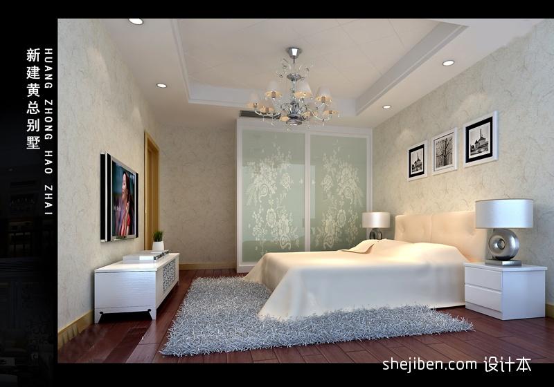 平混搭别墅卧室设计案例卧室潮流混搭卧室设计图片赏析