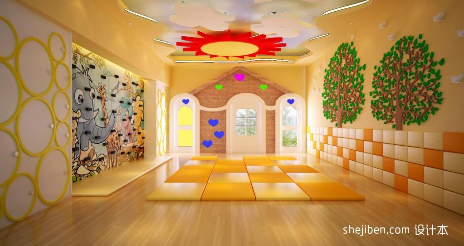 幼儿园墙面彩绘图片大全欣赏教育机构其他设计图片赏析