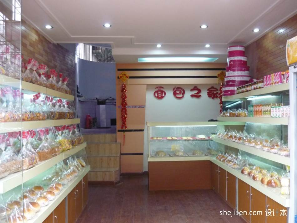 面包之家餐饮空间其他设计图片赏析