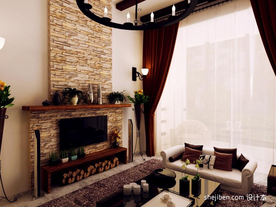 2018精选面积118平复式客厅混搭效果图片大全客厅潮流混搭客厅设计图片赏析