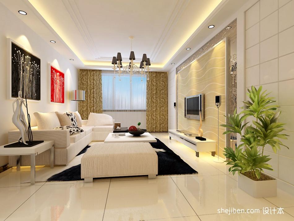 大气75平混搭三居客厅效果图客厅潮流混搭客厅设计图片赏析