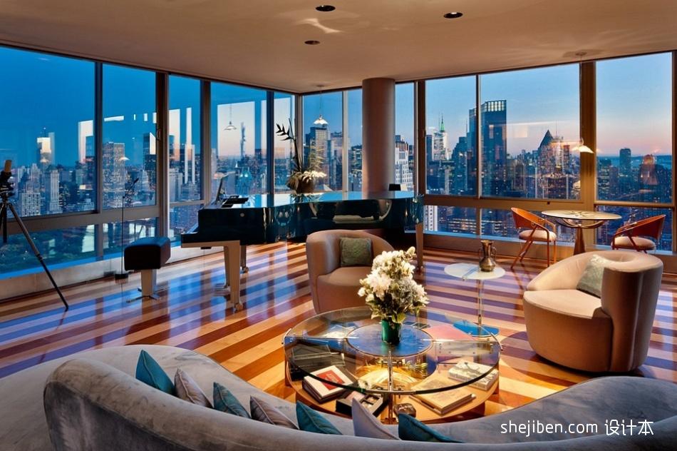 精选135平方四居客厅混搭装修欣赏图片客厅潮流混搭客厅设计图片赏析