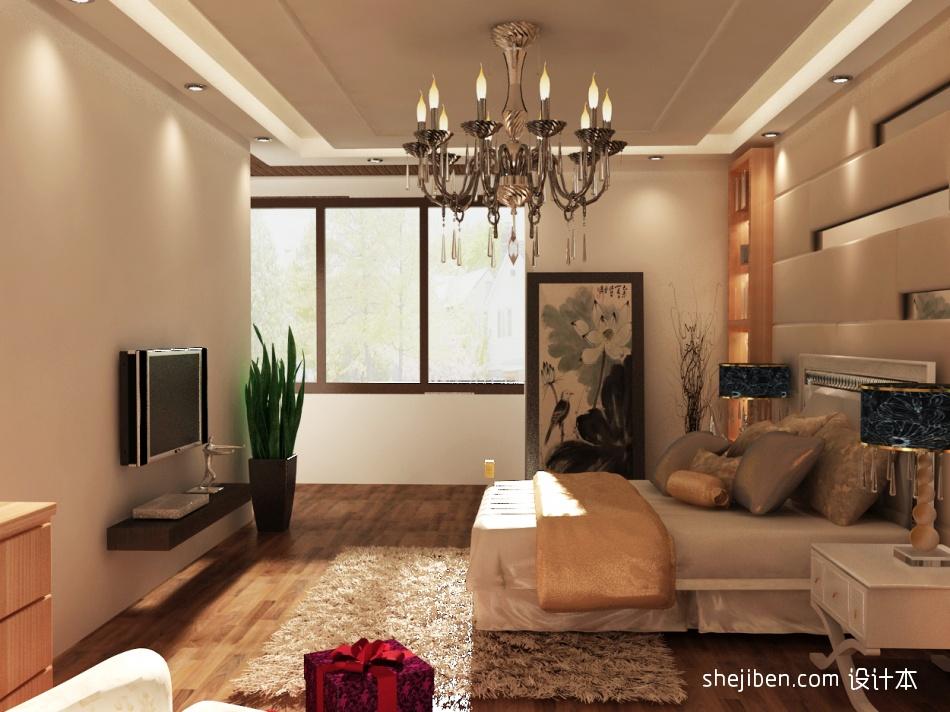 精美144平米混搭复式卧室效果图片卧室潮流混搭卧室设计图片赏析