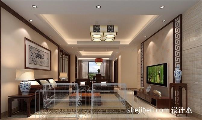 简洁154平混搭四居客厅效果图片大全客厅潮流混搭客厅设计图片赏析