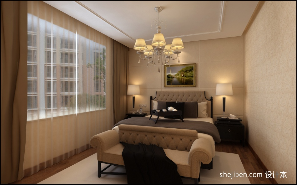 卧室客厅潮流混搭客厅设计图片赏析