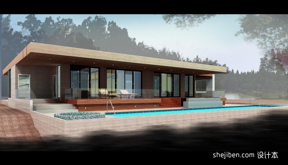 澳洲别墅外观效果图view2客厅潮流混搭客厅设计图片赏析