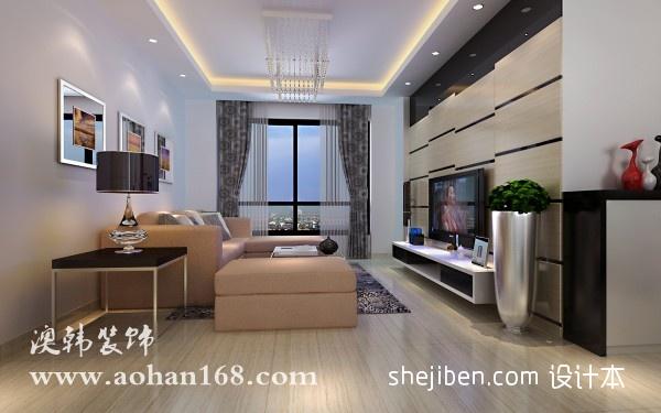 红日江景小区三居室餐厅装修设计效果图客厅潮流混搭客厅设计图片赏析