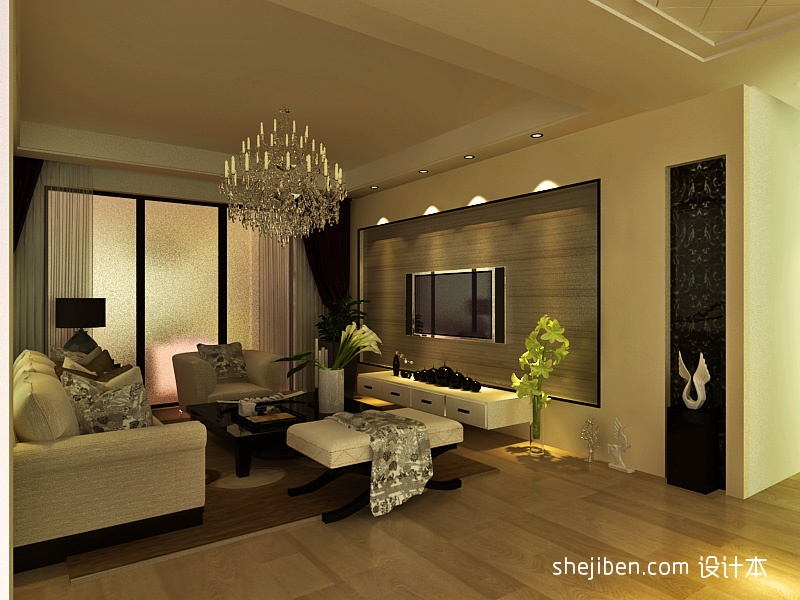 精美混搭3室客厅装修效果图片大全101平客厅潮流混搭客厅设计图片赏析