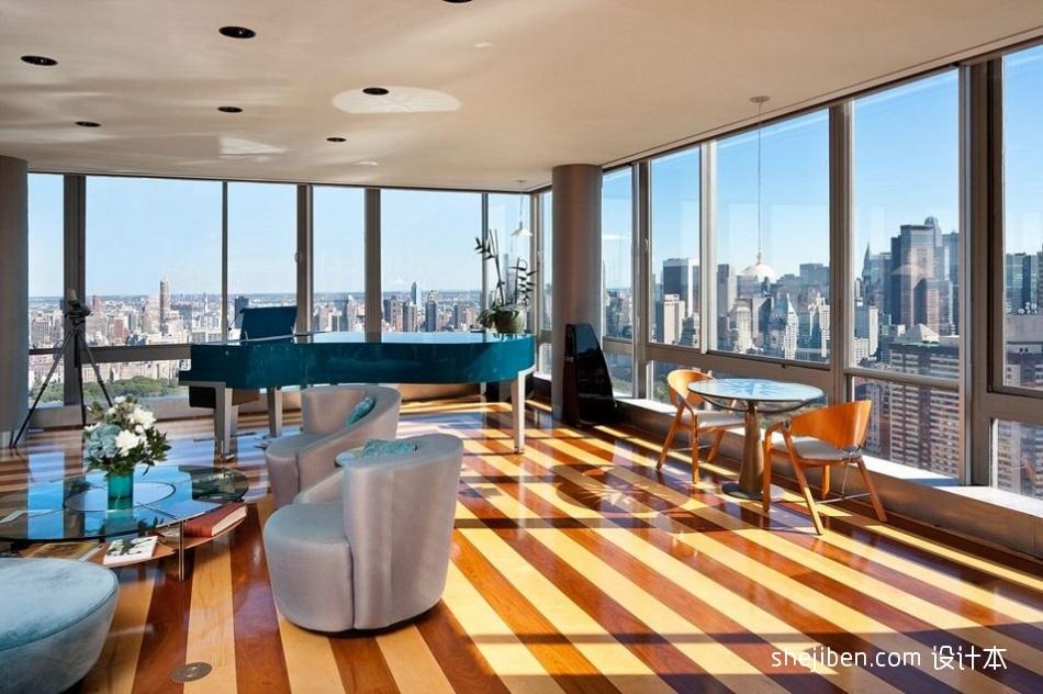 精美大小116平混搭四居客厅装修欣赏图客厅潮流混搭客厅设计图片赏析