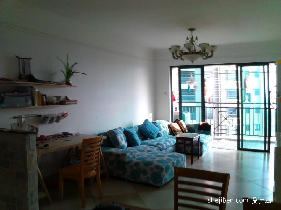 精选73平方二居客厅混搭装饰图片客厅潮流混搭客厅设计图片赏析