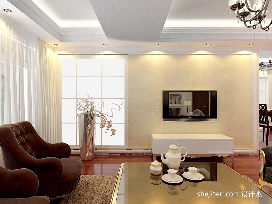 2018面积138平复式客厅混搭效果图片客厅潮流混搭客厅设计图片赏析
