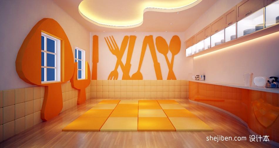 幼儿园教室墙面设计效果图教育机构其他设计图片赏析