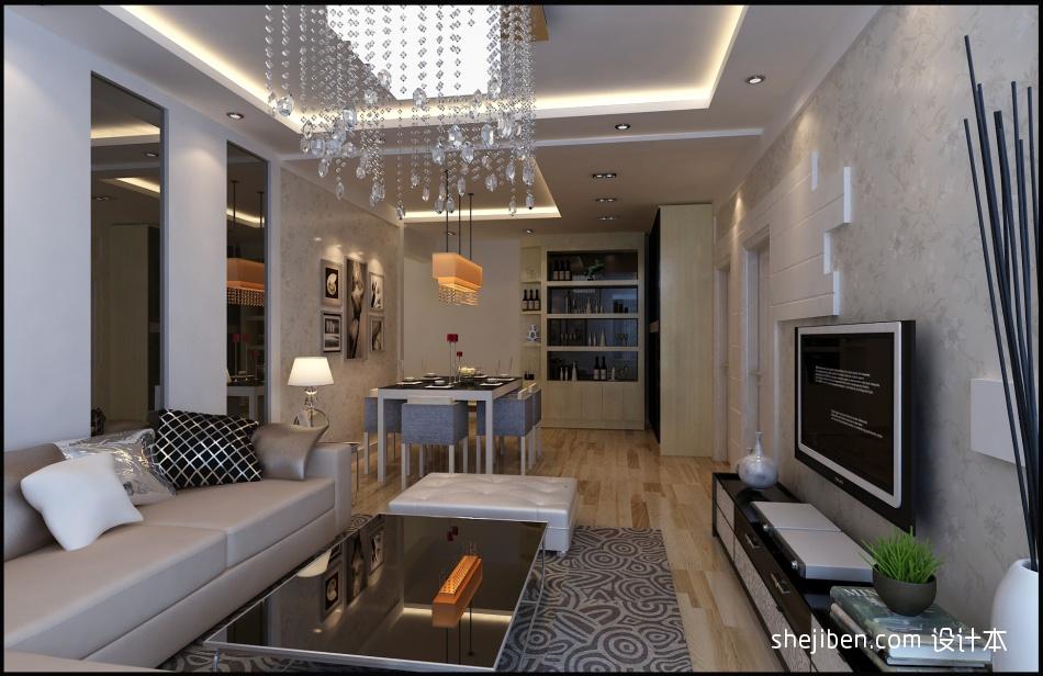 精美二居客厅混搭装修图客厅潮流混搭客厅设计图片赏析