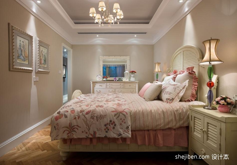 优雅319平混搭样板间卧室图片大全卧室潮流混搭卧室设计图片赏析