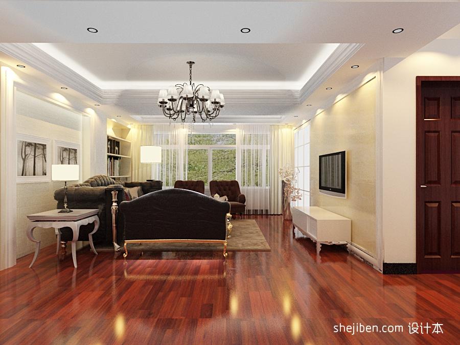 2018精选面积110平复式客厅混搭装饰图客厅潮流混搭客厅设计图片赏析