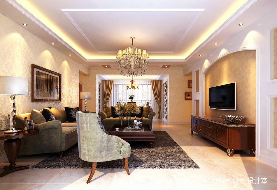 精选94平方三居客厅混搭装修欣赏图功能区其他功能区设计图片赏析
