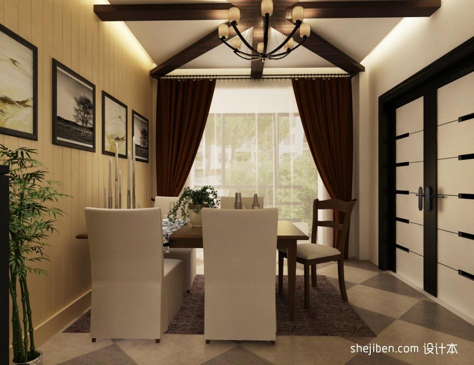 热门面积135平复式餐厅混搭效果图片大全厨房潮流混搭餐厅设计图片赏析