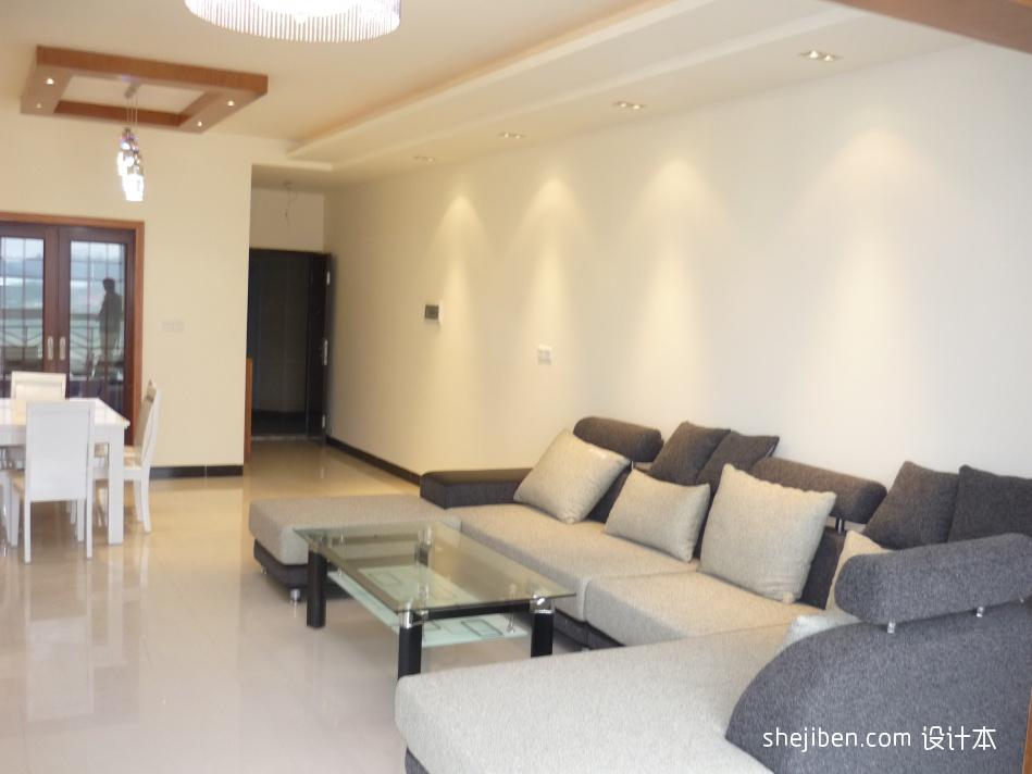 大气60平混搭二居客厅效果图欣赏客厅潮流混搭客厅设计图片赏析