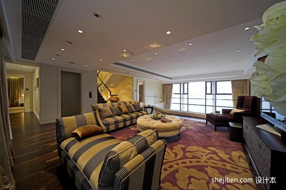 精选客厅混搭效果图片欣赏客厅潮流混搭客厅设计图片赏析