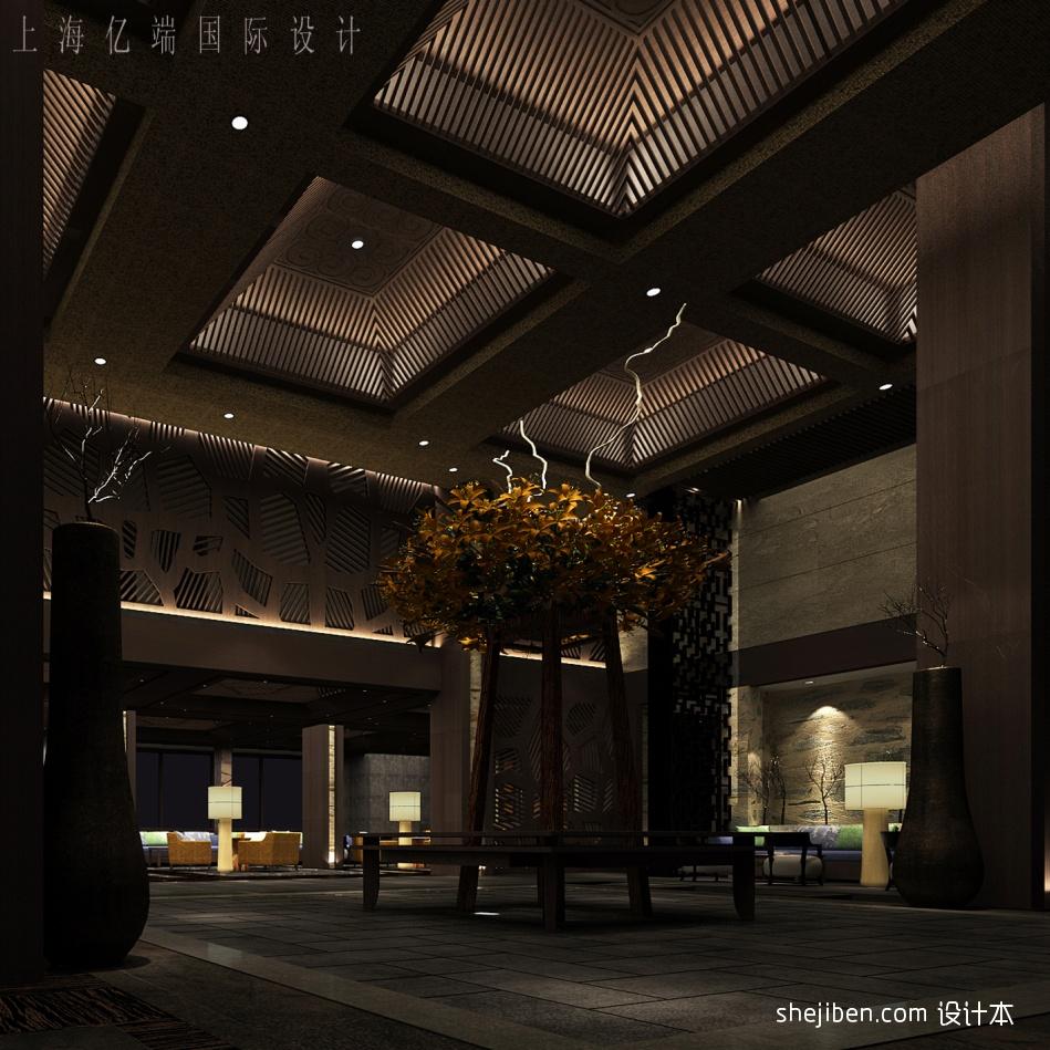 大堂酒店空间设计图片赏析