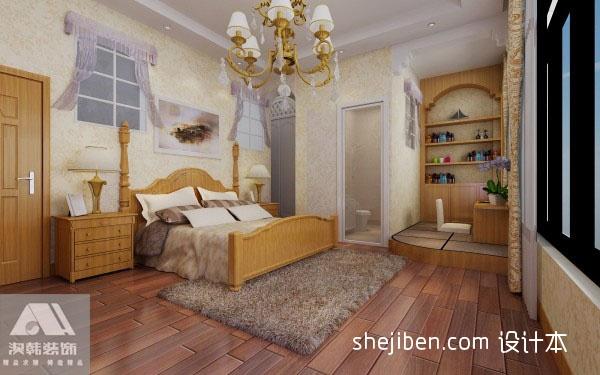 典雅81平混搭复式卧室美图卧室潮流混搭卧室设计图片赏析
