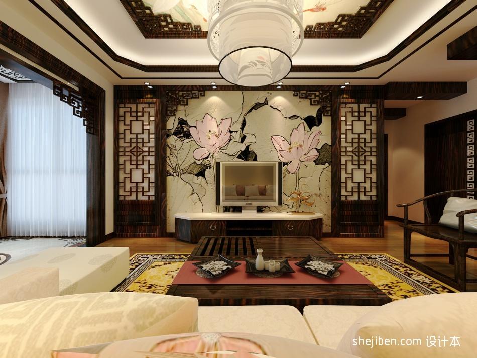 大气83平混搭二居客厅设计效果图客厅潮流混搭客厅设计图片赏析
