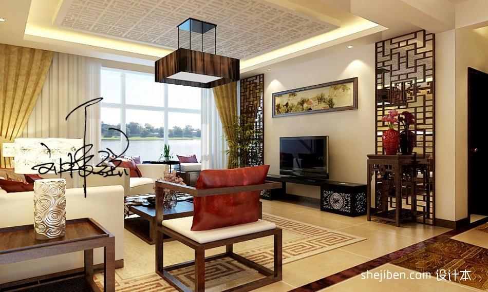 华丽78平混搭三居客厅设计案例功能区其他功能区设计图片赏析