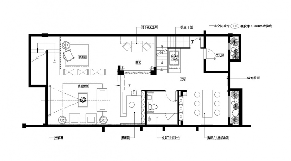 精美548平混搭别墅客厅图片大全客厅潮流混搭客厅设计图片赏析