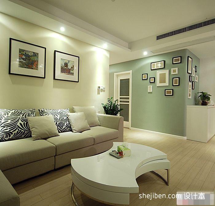 80.0平2018客厅混搭装修设计效果图片客厅潮流混搭客厅设计图片赏析