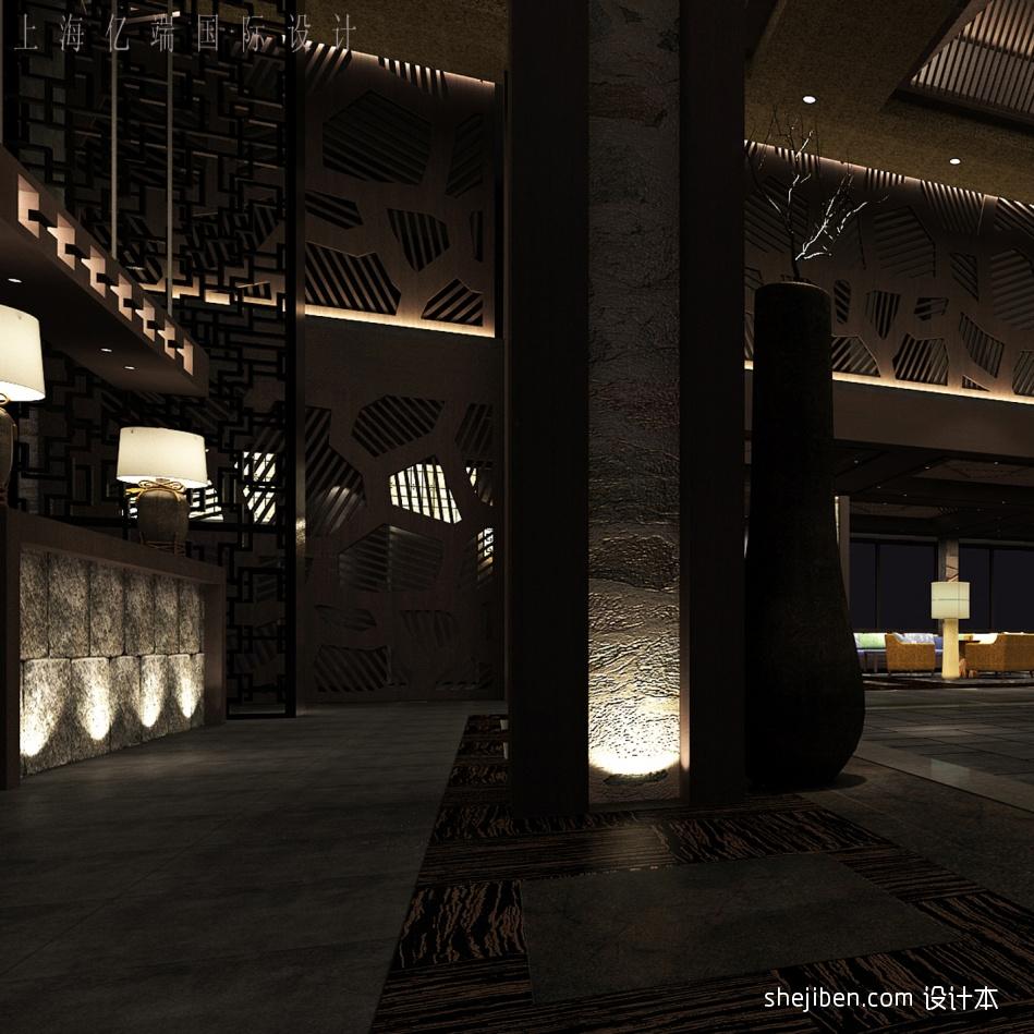 服务总台酒店空间设计图片赏析