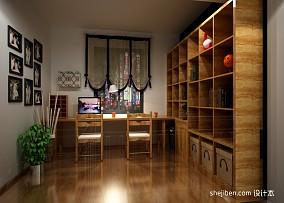 复式书房混搭装修欣赏图片