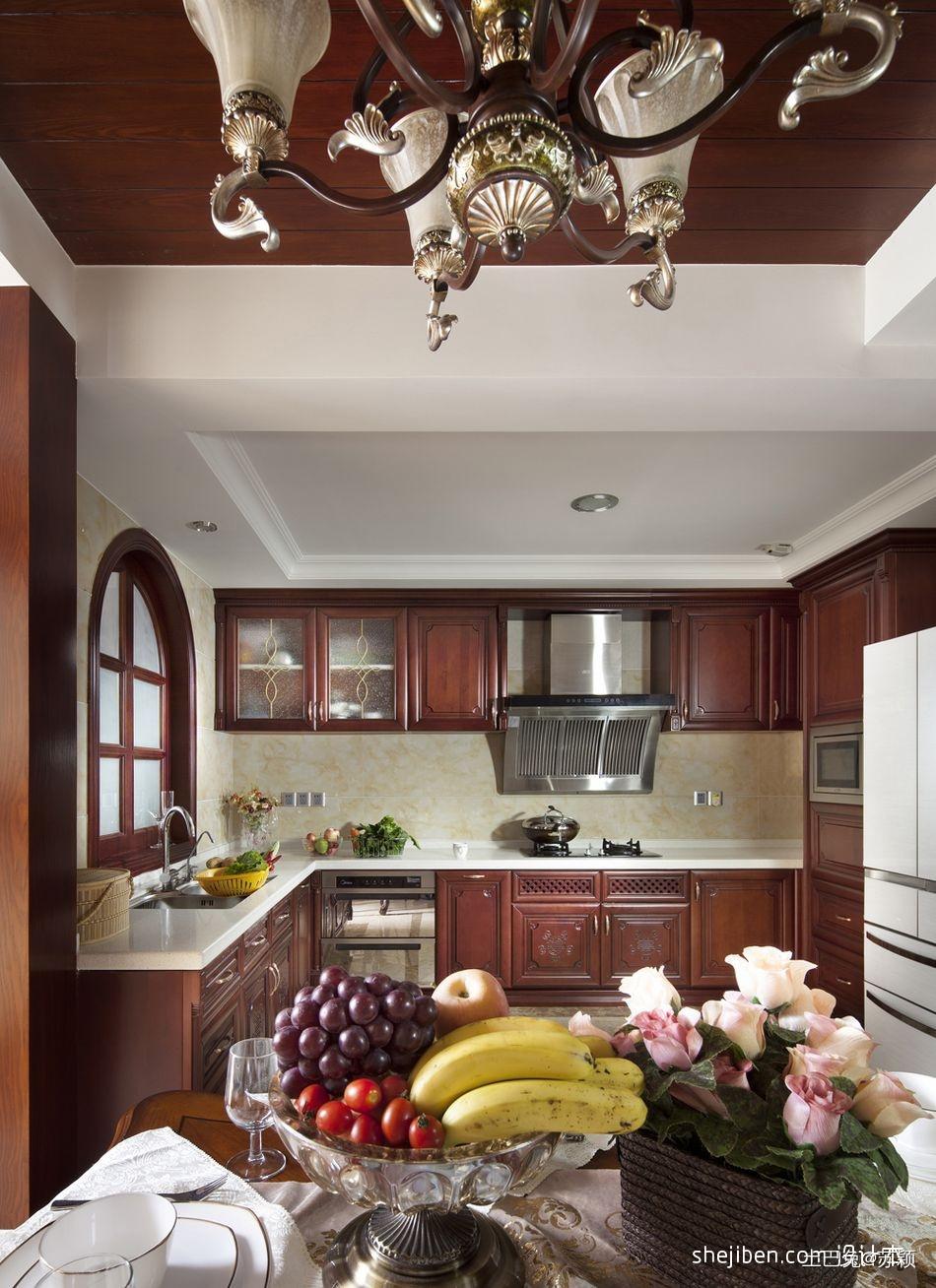 精美面积106平混搭三居厨房装修图片欣赏餐厅潮流混搭厨房设计图片赏析