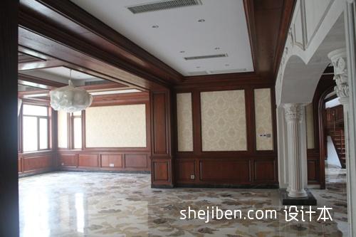 平米混搭别墅客厅装饰图片大全客厅潮流混搭客厅设计图片赏析